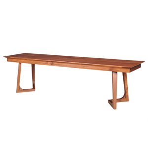 Godenza Walnut Bench