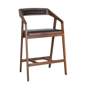 Padma Walnut Counterstool