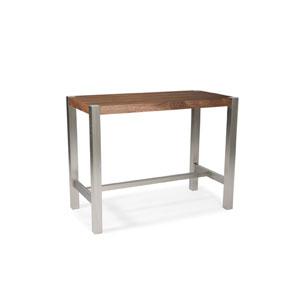 Riva Walnut Counter Table