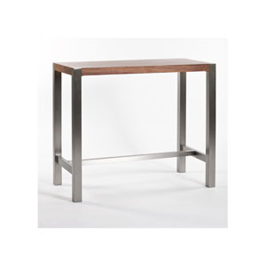 Riva Walnut Bar Table