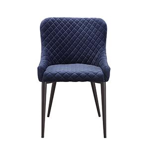 Etta Dining Chair Dark Blue