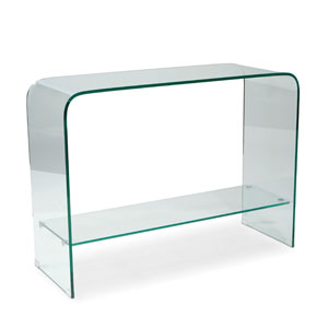 Sono Clear 31.5-Inch Console Table