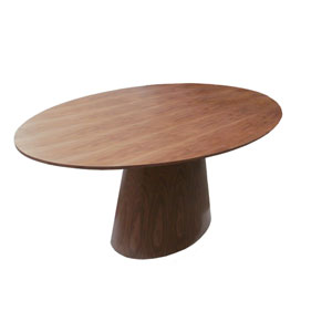 Otago Walnut Oval Dining Table