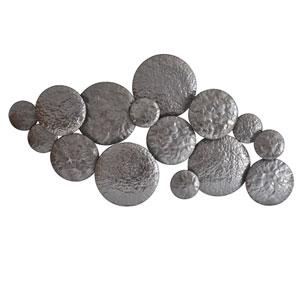 Mercury Silver 27.5-Inch Wall Decor