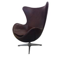 St Anne Dark Brown Club Chair