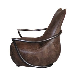 Carlisle Light Brown Club Chair