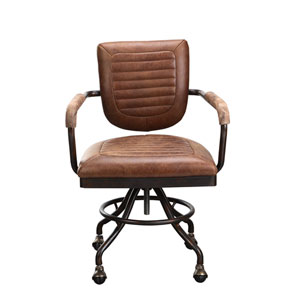 Foster Soft Brown Desk Chair