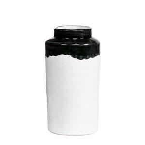 Bottiglia White and Black Vase, Set of 2