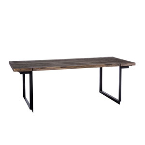 Tiburon Grey Dining Table Large