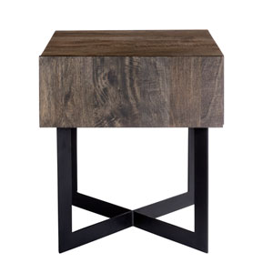 Tiburon Grey Side Table