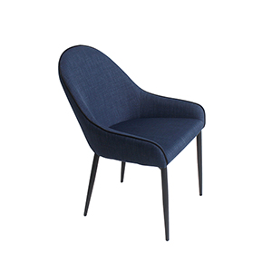 Lapis Dining Chair Dark Blue-Set Of Two