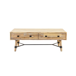 Hudson 2 Drawer Coffee Table