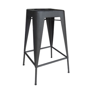 Brooklyn Black Counter Stool, Set of 2