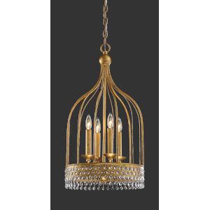 Kingsmont Glitz Gold Leaf Four-Light Pendant