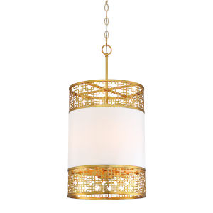 Blairmmor Honey Gold Four-Light Pendant