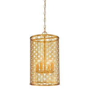 Blairmoor Honey Gold Four-Light Pendant