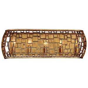 Abbondanza Halcyon Gold 26-Inch Five-Light Bath Light