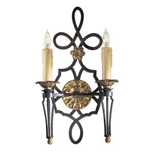 Montparnasse Two-Light Wall Sconce