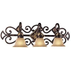Zaragoza Three-Light Bath Fixture
