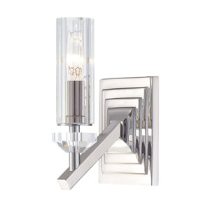 Fusano Polished Nickel One-Light Wall Sconce