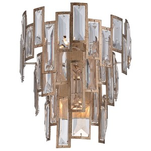Bel Mondo Luxor Gold Three-Light Wall Sconce