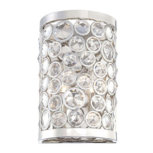 Magique Polished Nickel Two-Light Wall Sconce