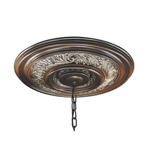Salamanca Round Canopy Ceiling Medallion