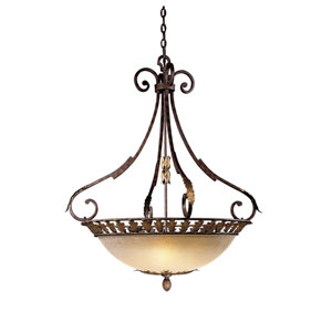 Zaragoza Five-Light Bowl Pendant