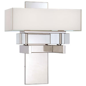 Eden Roe Polished Nickel Wall Sconce