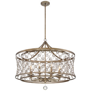 Vel Catena Arcadian Gold Eight-Light Pendant