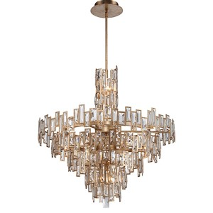 Bel Mondo Luxor Gold 21-Light Chandelier