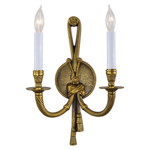 Vintage Two-Light Sconce
