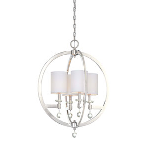 Chadbourne Polished Nickel Four-Light Pendant