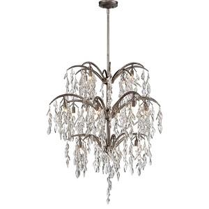 Bella Flora Silver Mist 16-Light Chandelier