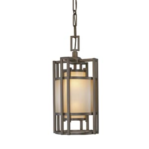 Walt Disney Signature Underscore Cimarron Bronze Two-Light Foyer Pendant