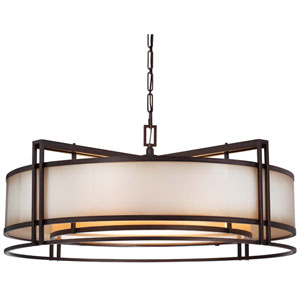 Underscore Cimarron Bronze Five-Light Pendant