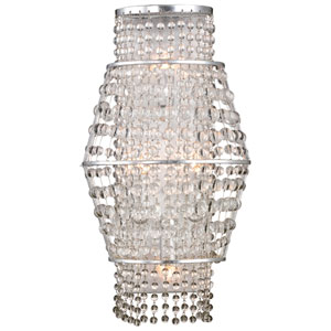 Saybrook Catalina Silver Four-Light Wall Sconce