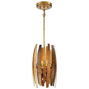 Manitou Ardor Gold 10-Inch Four-Light Mini Pendant