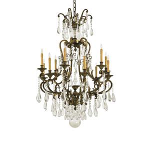 Metropolitan Twelve-Light Bohemian Crystal Chandelier