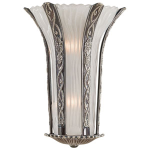 Platinum Two-Light Wall Sconce