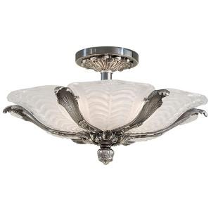 Platinum Six-Light Semi-Flush Mount