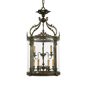 Metropolitan Nine-Light French Gold Lantern Pendant