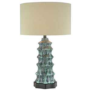 Multicolor One-Light Table Lamp