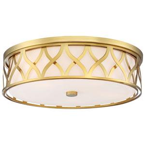 Liberty Gold 20-Inch LED Flush Mount