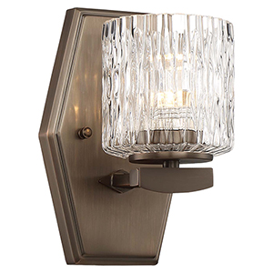 Maginot LED Harvard Court Bronze LED Bath Sconce