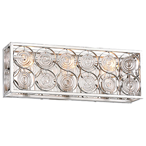Culture Chic Catalina Silver Two-Light Bath Vanity