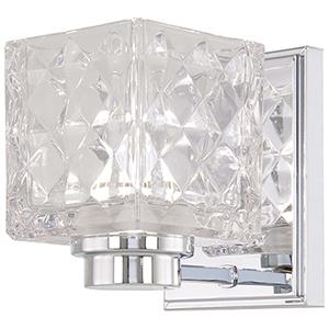 Glorietta Chrome LED Bath Sconce
