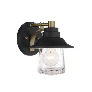Westfield Manor Sand Coal And Soft Brass One-Light Bath Vanity