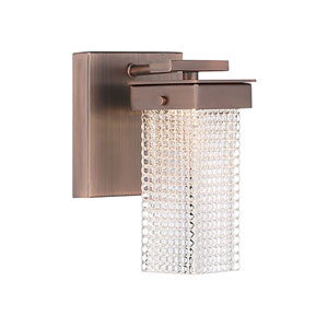 Dewberry Lane Dark Brushed Bronze LED Bath Vanity
