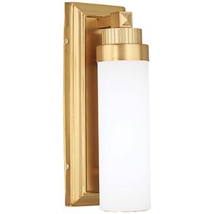 5500-249-L Liberty Gold LED Wall Sconce